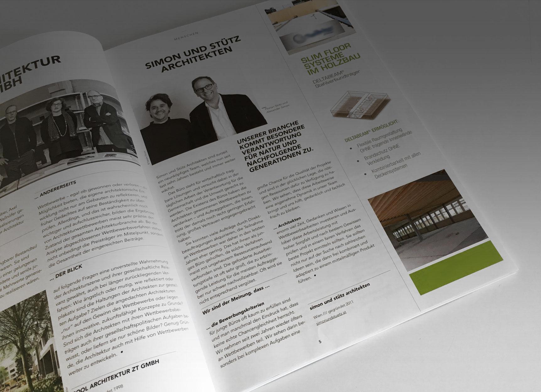Journal Architektur/ Wettbewerbe
