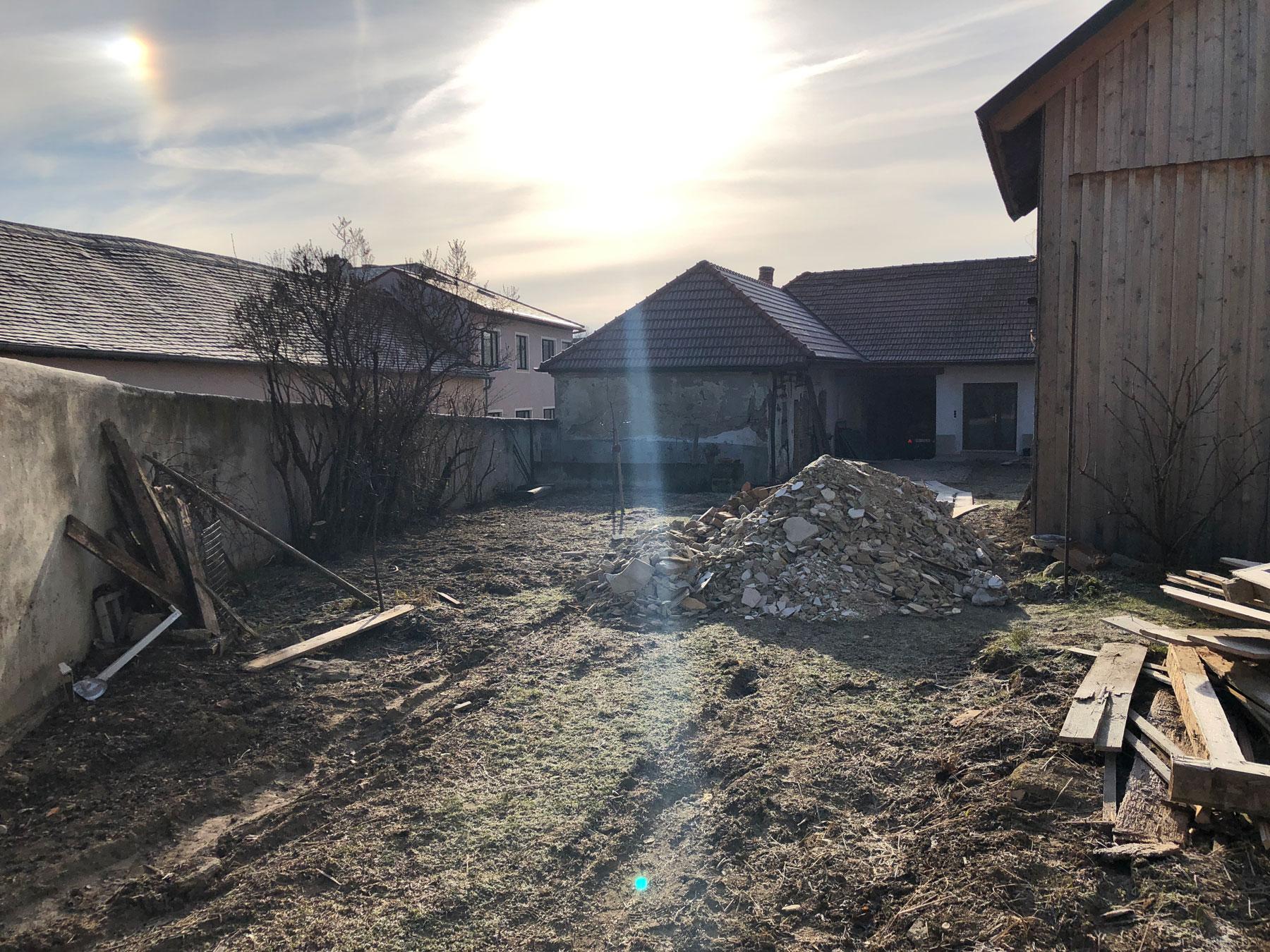 Baubeginn in Pfaffstetten