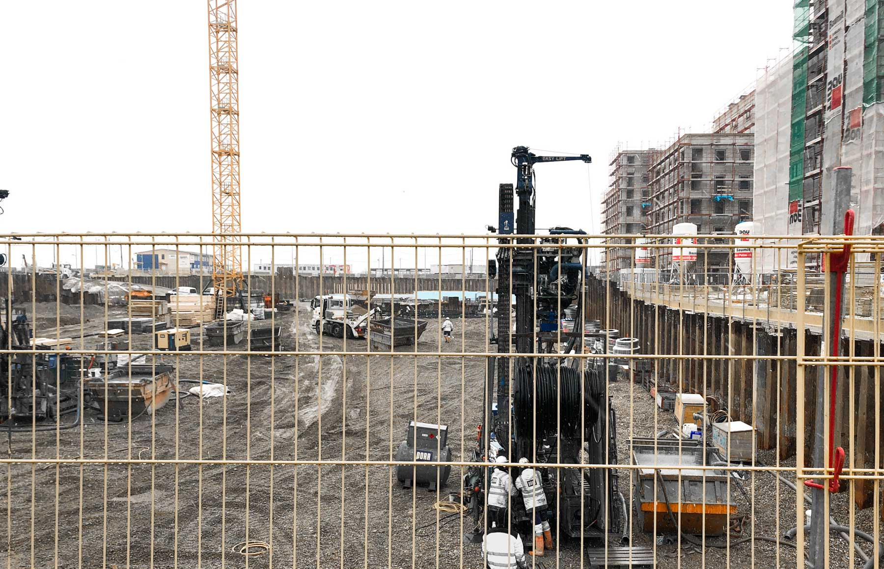 Baubeginn H6
