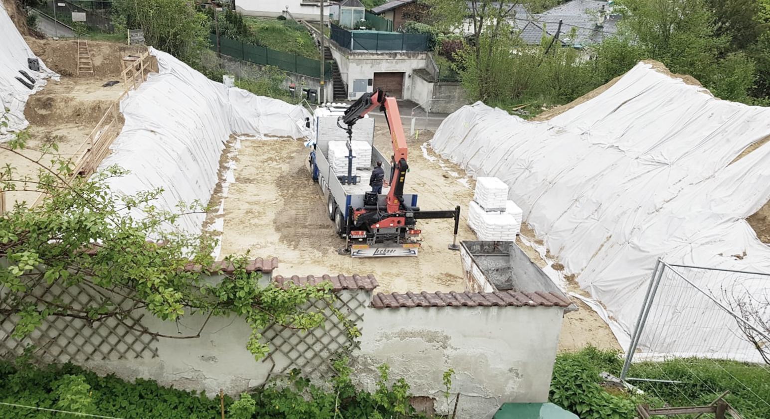 Baubeginn Klosterneuburg